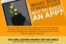 Infographics / Graphic visual representations of information related to mobile apps