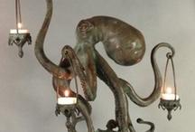 Octopi / I bloody love octopuses.  It's true.