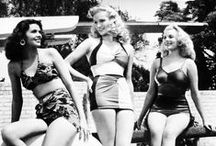Pin-up / Glamourous girls full of the old sassiness and charm.