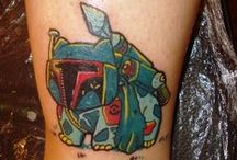 Geeky make-up and tattoos / A collection of geeky make up and tattoos because they're awesome!