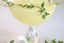 Cocktail Recipes / A few ideas of inspiration for your next cocktail hour or party! Visit us at TheHourShop.com to find the perfect glass and barware for your home bar.