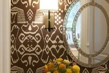 Decorating-Powder room / by Cheryl Jones