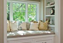 Decorating-Window Seat / by Cheryl Jones
