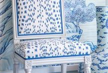 Decorating-Blue & White / by Cheryl Jones