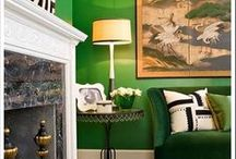 Decorating-Green / the color green / by Cheryl Jones