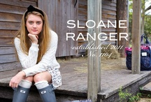 Bringing the London Style to NYC / Sloane Ranger Products.