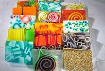 handmade soaps crayons and other things / by Rina Flemming
