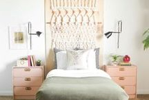 Bedroom / Inspiration for master bedrooms, guest bedrooms, and any non-child-oriented bedrooms.