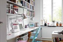 Bookshelves & home office / by Marie-Françoise Berriot
