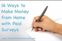Make Money Online / by Holly Hanna - The Work at Home Woman