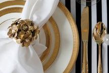 placesettings. / details to make up tablescapes we love