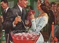 """Vintage Punch Bowls / Nothing says """"party"""" like a great punch!"""