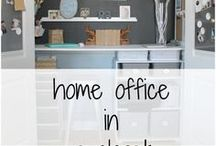 Office & Craft Room / Inspiration and projects for an office or craft room.