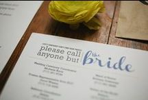 Bridesmaid Duties / by Whitney Booth