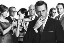 Mad Men Cocktail Party Time / Drink like a Mad Man - in vintage style! Bring 1960s cocktail hour back to life with authentic vintage cocktail glasses and barware. Cheers to great style!