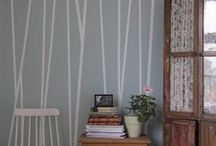 Accent wall ideas @ Kimps
