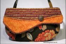 Helen's Daughters Handbags / Helen's Daughters is a handbag business between sisters.  Char in Baraboo, Wisconsin and Mariella in Preston, Minnesota.  We design and construct handbags from tapestry fabrics. We do art fairs and shows in the Upper Midwest.  Helen was our mother, she taught us how to sew and be good women.  