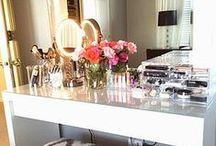 Makeup Organization, Vanities, Interior Design