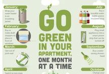It's Easy to Go Green / Reduce, reuse, recycle! Find how you can make your apartment eco-friendly, whether it's planting your own plants, making a DIY cleaner or conserving energy. Check out these cool ways to go green: / by Apartment Guide