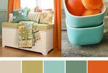 Fabrics & Colors / by Elizabeth Green