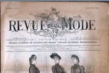 Revues de mode / List of French fashion magazines, available at the French National Library. Click on the link below the picture to see all the available numbers.