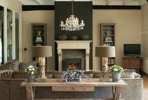 HOME | Living/Family Rooms / by Kaitlyn Jackson
