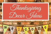 How to Decorate for Friendsgiving / The cutest and festive decor ideas for any Friendsgiving (or Thanksgiving) feast!