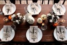 Thanksgiving  / Recipes, tablescapes, decor tips, and other Thanksgiving ideas to host a fabulous feast!