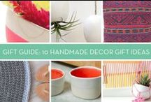 Gift Giving Guides / Creative gift giving guides for all occasions!