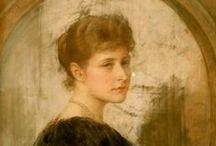 Alexandra Feodorovna's portraits