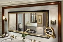 """Life as Elizabeth Taylor in our """"Suite"""" Deals / Elizabeth Taylor loved our suites. This board pays homage to her while showcasing some of our favorite amenities in our suites."""