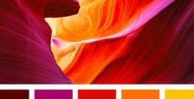 Colour | Vibrant colour collections and colour palettes / Colour Palettes