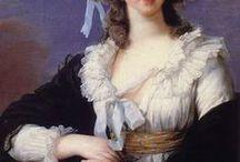 18th century robe en chemise, gaulle, robe à la reine