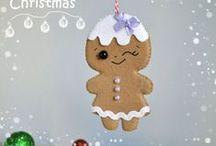 Moldes para o Natal / Moldes, dicas e passo a passo de artesanato com tema Natal! Tudo organizado para te inspirar a fazer também!