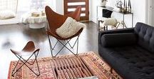 Mid Century Decor / We're going back in time to the mid 20th century... this board gives inspiration for how you can in incorporate mid century style into your home today. Chairs, lamps, tables and art that is organic and clean.