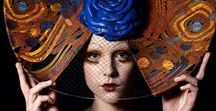 Be Original or Buy Original AW14/15 / Merve Bayindir Be Original or Buy Original AW14/15 Millinery/Hat Collection studio show for Mercedes Benz Fashion Week Istanbul. The collection is inspired by art-deco details, the sexiness combined with architectural sprit of the time.