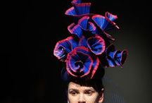 PANDORA AW15/16 / Merve Bayindir  PANDORA AW15/16 Millinery/ Hat Collection Runway  for Mercedes Benz Fashion Week Istanbul. The pandora collection inspired by the world where Nai people lived in the movie Avatar. The colors other than blue used in the collection are either Florissant or glow in the dark.