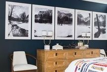 Decorating with Photographs / Interior designs incorporating photos in ways both modern and meaningful!