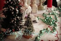 Merry Happy Holly Days / All things holiday and Christmas cheer! Food, decorations, DIY and decor. Anything on the web to make your spirits bright and your holiday special!! #MerryChristmas #Ilovetheholidays / by Susan@CountryDesignHome