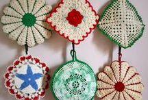 Bits o' String- Granny Squares/ Dishclothes/ Potholders