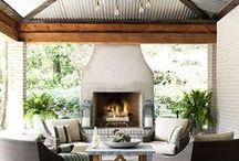 Courtyard / a place to cozy up under the stars  / by Julie Graham