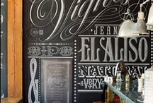 Chalking It Up! / Grab some chalk, add some wit and humor and inspired away! Anything (and everything, even the fridge!) can be a chalkboard. Check out the inspired DIY's! #chalkboard art / by Susan@CountryDesignHome