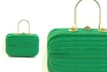 Don't Forget Your Purse! / Vintage Wicker Handbags