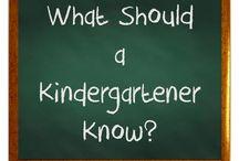 Kindergarten / Ideas for teaching kindergarten