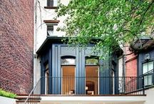 Tiny Spaces / Modern, industrial, & streamlined apartments and tiny spaces / by Julie Graham
