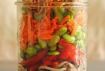 Salad In A Jar / Saladicious is a new business I am setting up