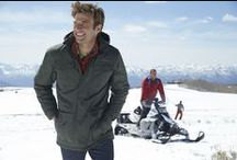 Cold Weather Gear for Guys / Gear & Gift ideas for guys from Eddie Bauer | #LiveYourAdventure / by Eddie Bauer