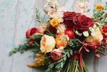 Autumnal Wedding Flowers / Autumnal Wedding Flowers