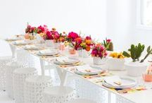 Tablescape Ideas / Set a stunning table with these tablescape ideas.  / by Tori Tait | Thoughtfully Simple