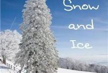 NE - Snow and Ice / Here are some fantastic ideas to enhance the NaturExplorers Snow and Ice study!